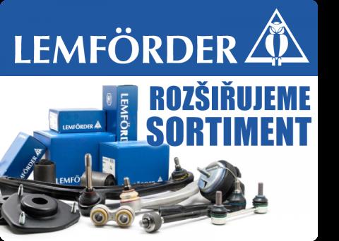 Rozšiřujeme sortiment o díly řízení značky LEMFÖRDER