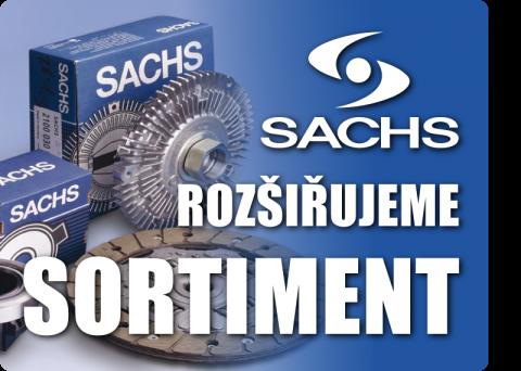 Rozšiřujeme sortiment o značku SACHS (spojkové systémy)