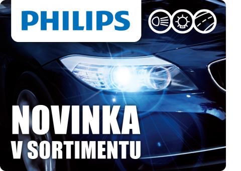 Nový sortiment auto žárovek značky PHILIPS