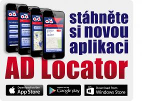 Mobilní aplikace AD Locator nyní ke stažení!