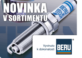 Novinka v sortimentu – značka BERU