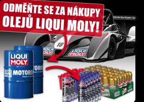 Odměňte se za nákupy oleju LIQUI MOLY!