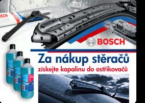 Akce – Za nákup stěračů získejte kapalinu do ostřikovačů