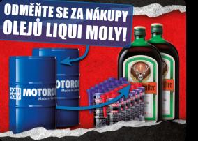 Odměňte se za nákupy olejů LIQUI MOLY!