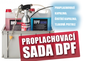Proplachovací sada DPF