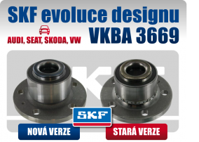 SKF evoluce designu u ložiska VKBA 3569