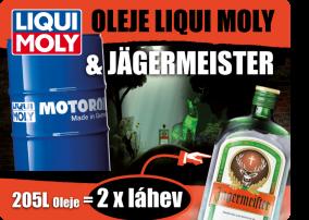 OLEJE LIQUI MOLY & JÄGERMEISTER